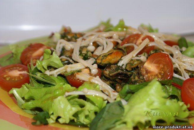 салат из мидии в масле рецепты приготовления